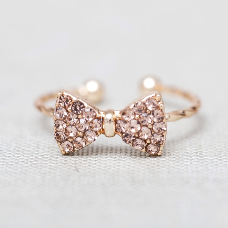 import accessories product jewellery little finger artificial jewels detail plated rings fashion silver gold