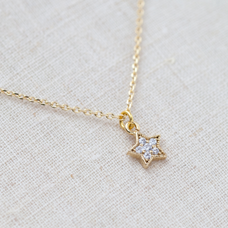 shop the necklace product silver bath of star