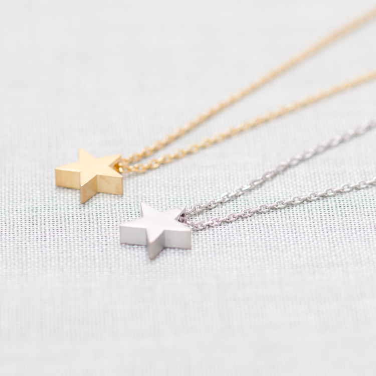 star pendants lwong women boho gold for garnet layering pendant chokers product necklace bijou dainty chain choker necklaces simple color wholesale tiny