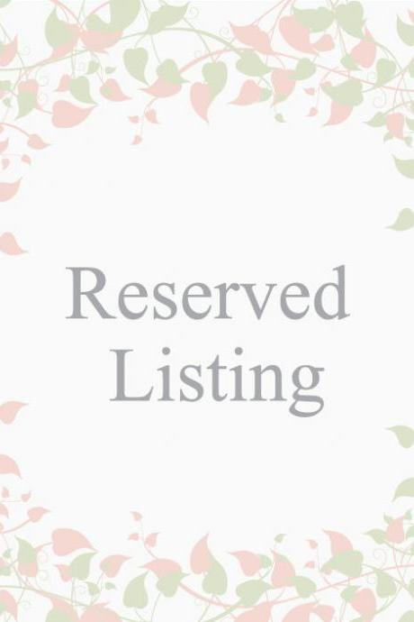 Reserved listing for Nihara
